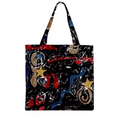 Confusion Zipper Grocery Tote Bag