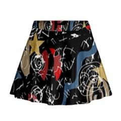 Confusion Mini Flare Skirt