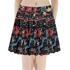 Confusion Pleated Mini Skirt