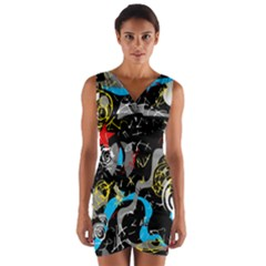 Confusion 2 Wrap Front Bodycon Dress