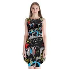 Confusion 2 Sleeveless Chiffon Dress