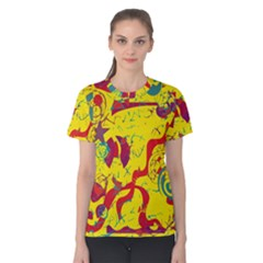 Yellow confusion Women s Cotton Tee