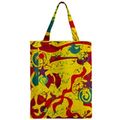 Yellow confusion Classic Tote Bag