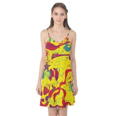 Yellow confusion Camis Nightgown