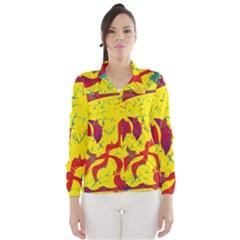 Yellow confusion Wind Breaker (Women)