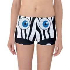 Blue eye zebra Boyleg Bikini Bottoms