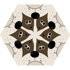 Bulldog face Mini Folding Umbrellas