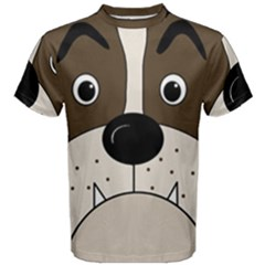 Bulldog face Men s Cotton Tee