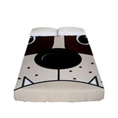 Bulldog face Fitted Sheet (Full/ Double Size)