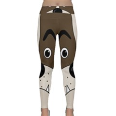 Bulldog face Classic Yoga Leggings