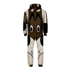 Bulldog face Hooded Jumpsuit (Kids)