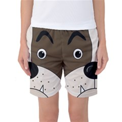 Bulldog face Women s Basketball Shorts