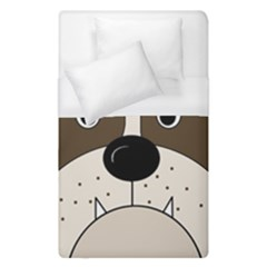 Bulldog face Duvet Cover (Single Size)