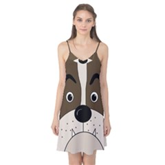 Bulldog face Camis Nightgown