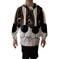 Bulldog face Hooded Wind Breaker (Kids)