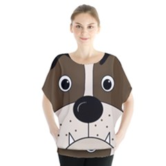 Bulldog face Blouse