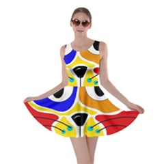 Colorful cat Skater Dress