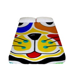Colorful cat Fitted Sheet (Full/ Double Size)