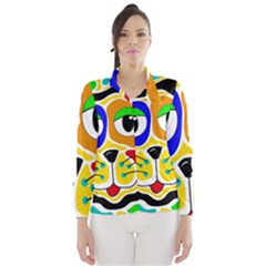 Colorful cat Wind Breaker (Women)