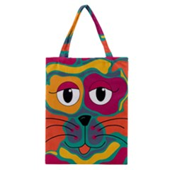 Colorful cat 2  Classic Tote Bag