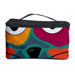 Colorful cat 2  Cosmetic Storage Case