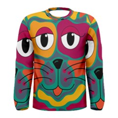 Colorful cat 2  Men s Long Sleeve Tee