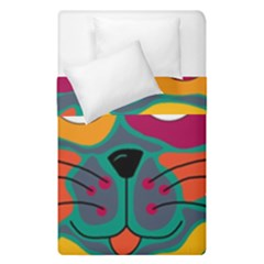 Colorful cat 2  Duvet Cover Double Side (Single Size)