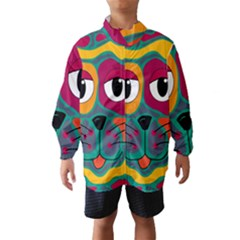 Colorful cat 2  Wind Breaker (Kids)