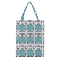 Beer Pattern Drawing Classic Tote Bag
