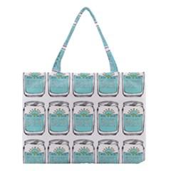 Beer Pattern Drawing Medium Tote Bag
