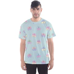 Butterfly Pastel Insect Green Men s Sport Mesh Tee