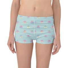 Butterfly Pastel Insect Green Reversible Bikini Bottoms