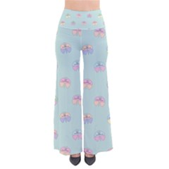 Butterfly Pastel Insect Green Pants