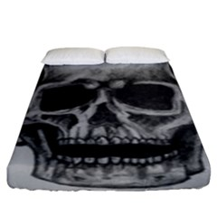 Skull Fitted Sheet (king Size)