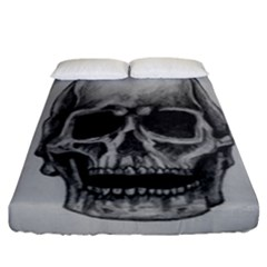 Skull Fitted Sheet (california King Size)