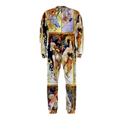 Alfons Mucha 1895 The Four Seasons OnePiece Jumpsuit (Kids)