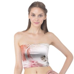 Elephant Heart Plush Vertical Toy Tube Top