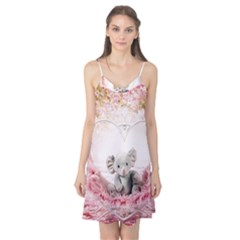 Elephant Heart Plush Vertical Toy Camis Nightgown