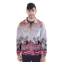 Elephant Heart Plush Vertical Toy Wind Breaker (Men)