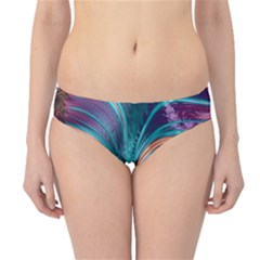 Feather Fractal Artistic Design Hipster Bikini Bottoms