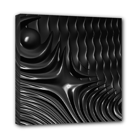 Fractal Mathematics Abstract Mini Canvas 8  x 8