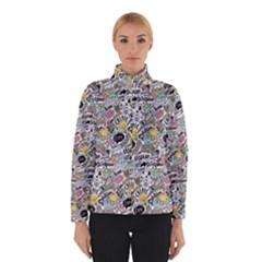 Communication Web Seamless Pattern Winterwear