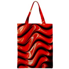 Fractal Mathematics Abstract Zipper Classic Tote Bag