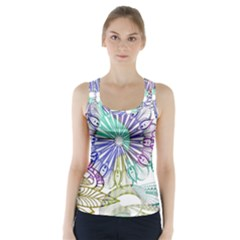 Zentangle Mix 1116a Racer Back Sports Top