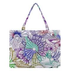 Zentangle Mix 1116a Medium Tote Bag