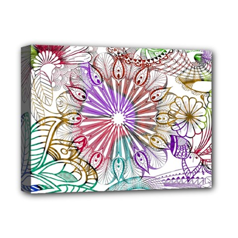 Zentangle Mix 1116b Deluxe Canvas 16  x 12