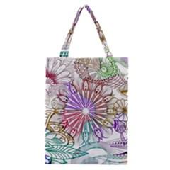 Zentangle Mix 1116b Classic Tote Bag