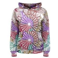 Zentangle Mix 1116b Women s Pullover Hoodie
