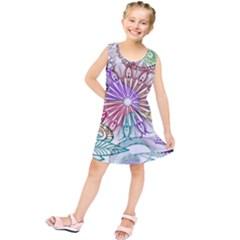 Zentangle Mix 1116b Kids  Tunic Dress