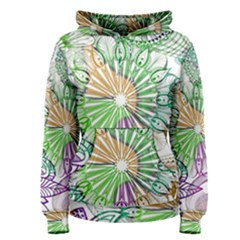 Zentangle Mix 1116c Women s Pullover Hoodie